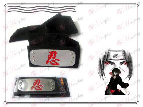 Naruto headband κόκκινο μακροθυμία