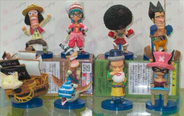 58 namens acht One Piece Accessoires (Fox piraten)