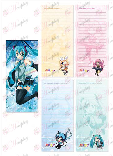 Hatsune Long Scratch Pad 008