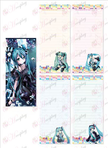 Hatsune Long Scratch Pad 007