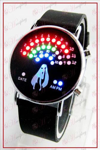 אוהד קוריאני צבעוני LED שעונים - Hatsune Miku אבזרים