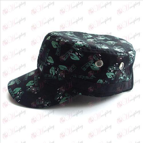 Модные шапки - Hatsune (черный)
