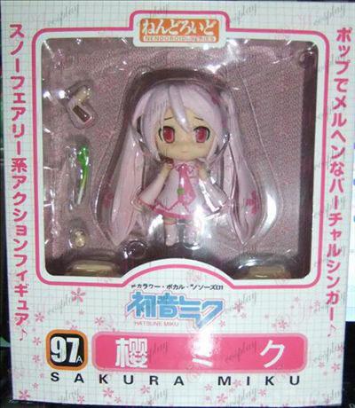 Q-97A # Sakura Hatsune руку, чтобы сделать пересадку лица