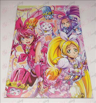 42 * 29 Kagamine Twins prægede plakater (8 / sæt)