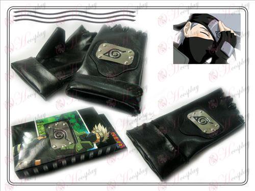 Naruto Collectors Edition læderhandsker (Kiba)