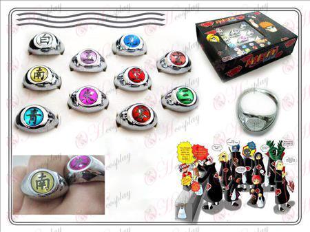 New Edition Naruto Xiao организация пръстен (10 инсталирани)