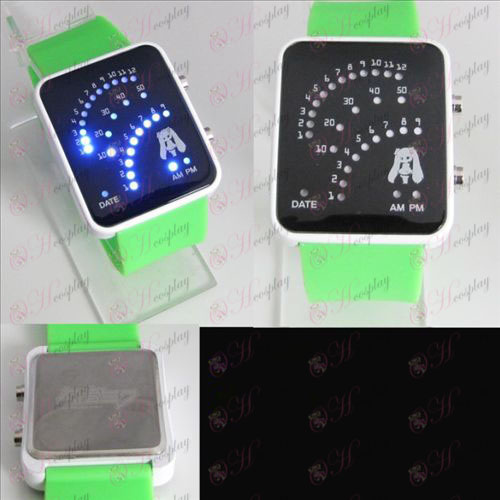 Hatsune fan LED watch