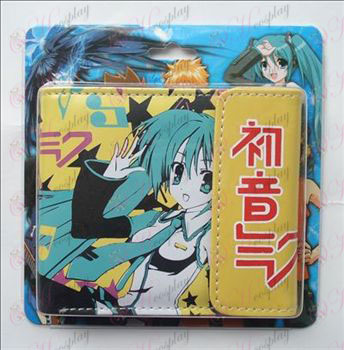 Hatsune colored snaps wallet