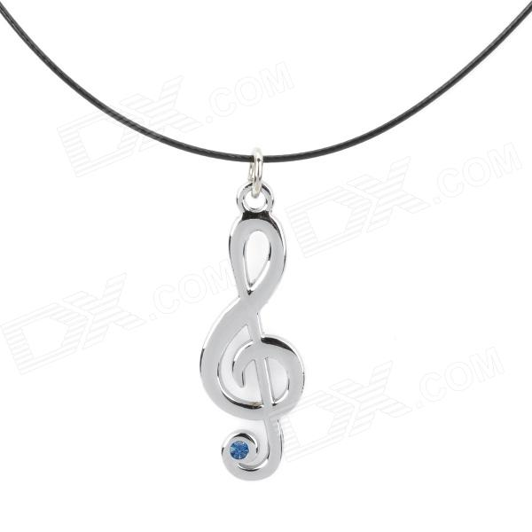 Hatsune note 3 Blue Diamond Necklace