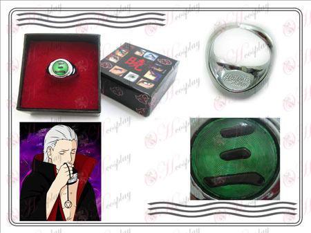 Edizione Naruto Xiao Organizzazione Ring Collector (tre)