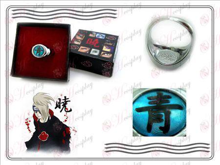 Edizione Naruto Xiao Organizzazione Ring Collector (blu)