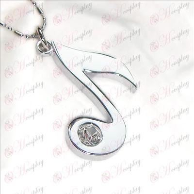 Hatsune necklace notes
