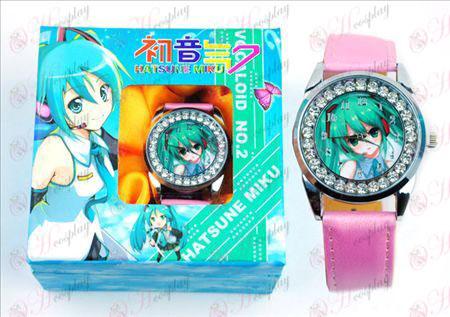 Hatsune διαμάντι ρολόγια