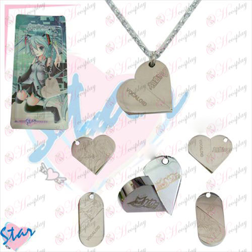 Changes in heart-shaped necklace Hatsune