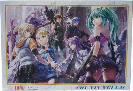 Hatsune Miku Accessories puzzle 1000-916
