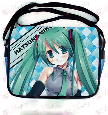 Hatsune colored leather satchel 504