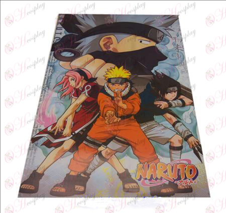 D42 * 29 Naruto embossed posters (8)