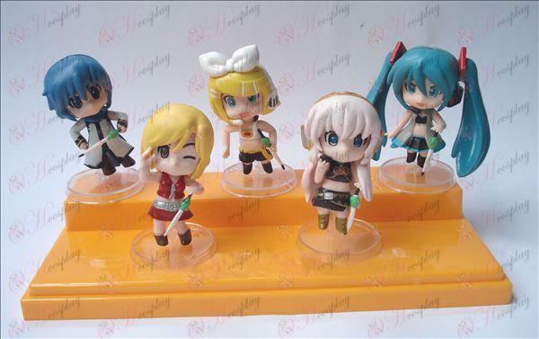 3 Generation 5 modeller Hatsune dukke vugge