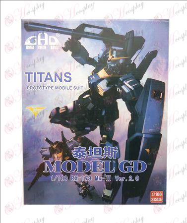 GHD1/100MkII2.0Titans Črna (Titans)