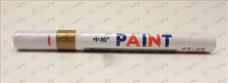 В Paint Parkinson Pen (Gold)