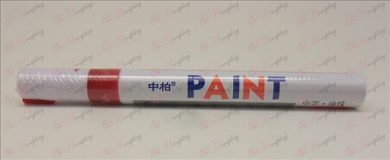 En Parkinson Paint Pen (Rojo)