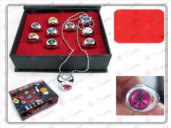 Naruto Xiao Organization ten Ring (Collector\'s Edition)