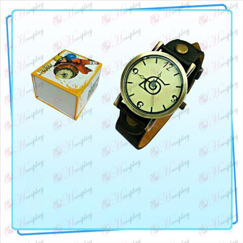 Naruto retro relógio