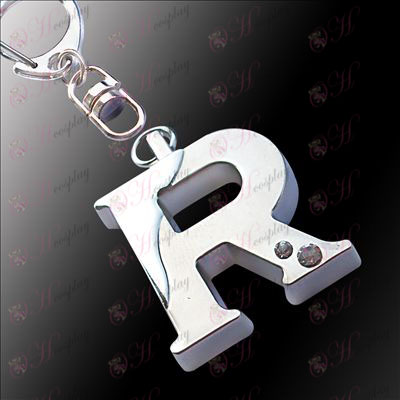 The Prince of Tennis AccessoriesR word separations hanging buckle