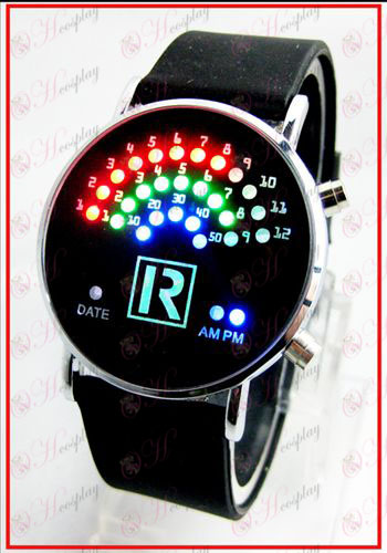 Цветни корейски фен LED часовници - Принцът на Тенис аксесоари
