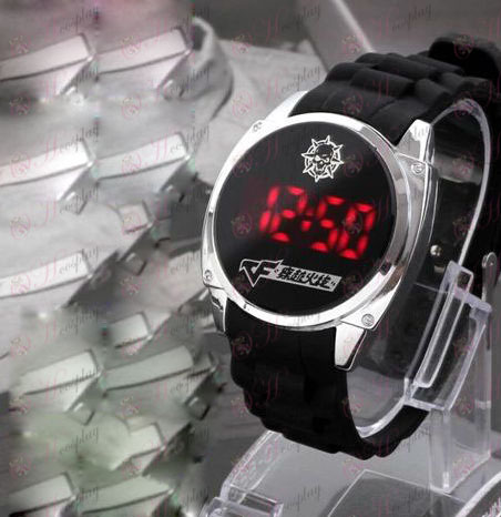CrossFire Tilbehør headshot logo LED touch screen ur
