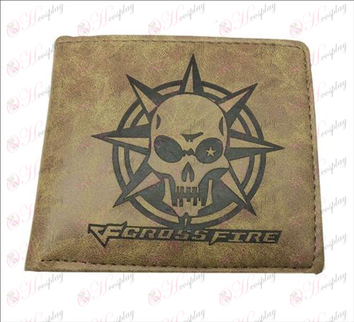 CrossFire Accessories matte wallet