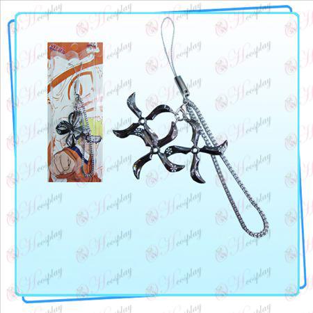 Naruto darts kolme ladattu hihna (musta)