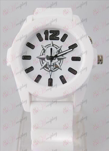 CrossFire Accessories colorful flashing lights Watch - White