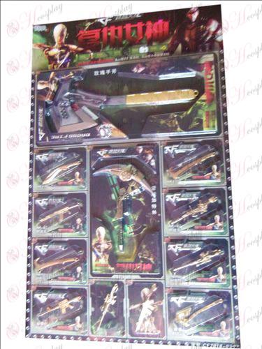 CrossFire Tillbehör Vapen Set - Nemesis