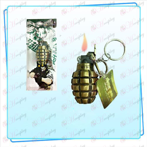 CF Grenade Lighter Keychain