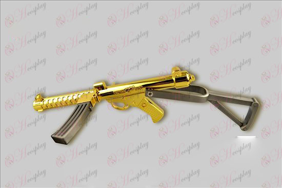 크로스 파이어 부속품 스털링 기관단총 (금 + 총 컬러)