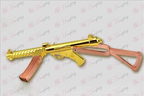 크로스 파이어 부속품 스털링 기관단총 (골드 + 구리)