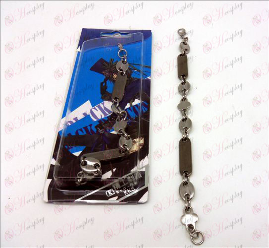 Black Butler Accessories Alloy Bracelet