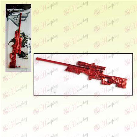 CrossFire Tilbehør krig Long Version sniper (rød)