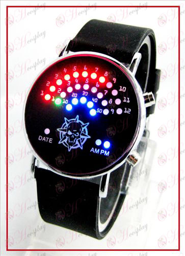 Colorful fan coreani orologi LED - CrossFire Accessori