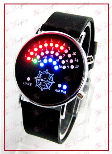 שעונים צבעוניים קוריאניים מאוורר LED - CrossFire אבזרים