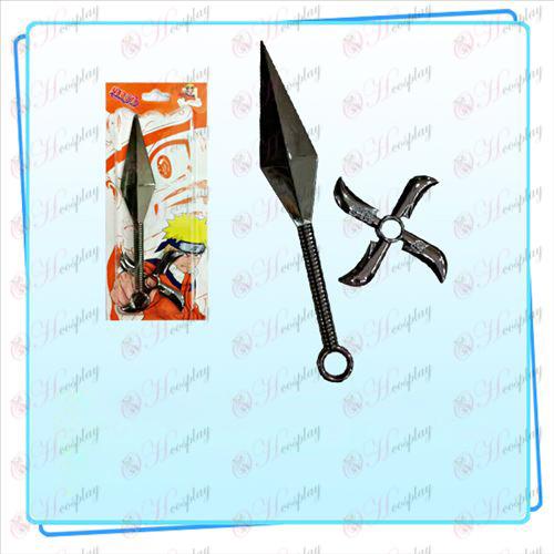 Naruto Sasuke Arma Shuriken - Dart Set (Black)