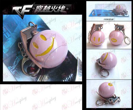 CrossFire Accessori smiley granate