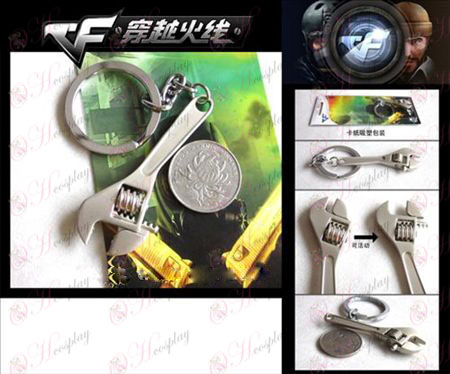 CrossFire Accessories Wrench Keychain