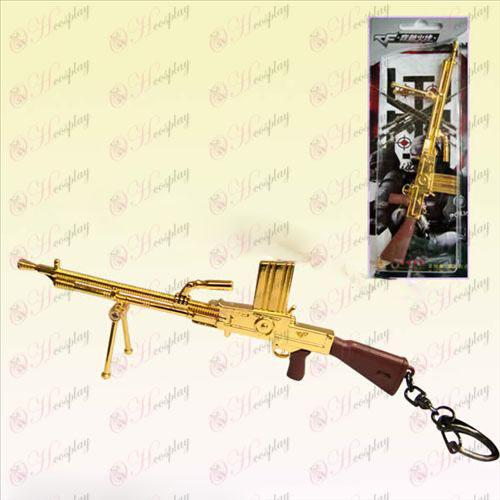 CrossFire Acessórios metralhadora leve Checa estilo (ouro)