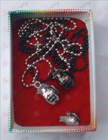 CrossFire Tilbehør granater par halskæde