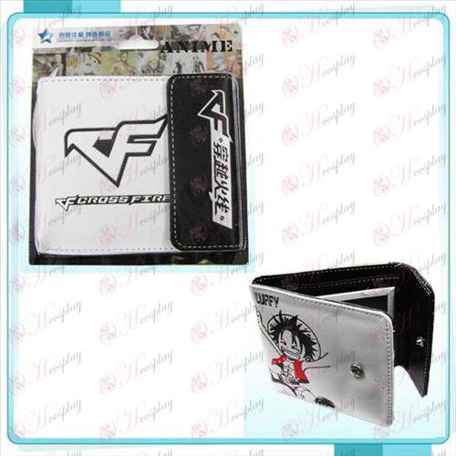 CrossFire Accessories logo snap wallet