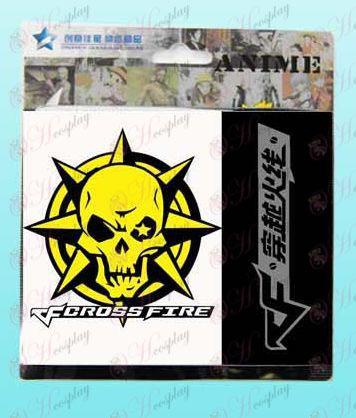 CrossFire Accessories headshot logo snap wallet