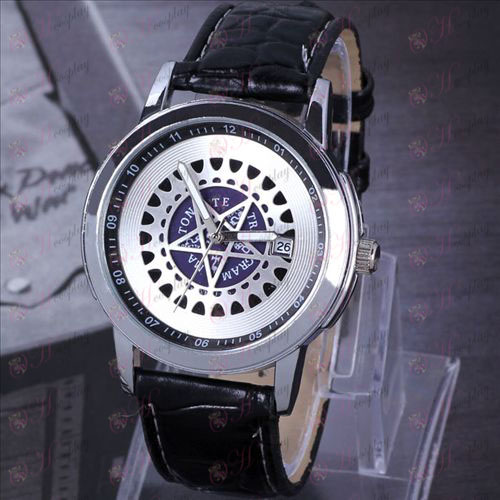 Black Butler Accessoires Compact Calendar schorsing Horloges