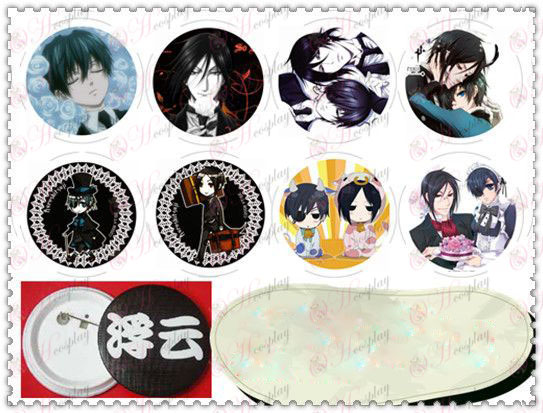 58MM Gyrosigma badge-Black Butler AccessoriesD paragraph